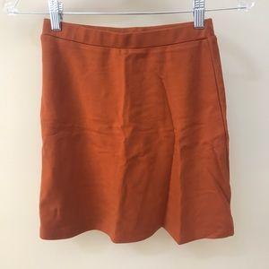 Dresses & Skirts - NWT American apparel Burnt orange skirt